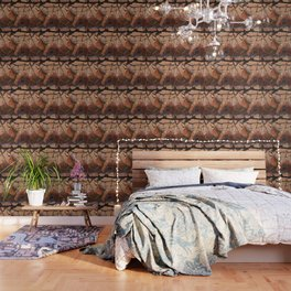 The Pears Fresco With a Crackle Finish #Society6 Wallpaper