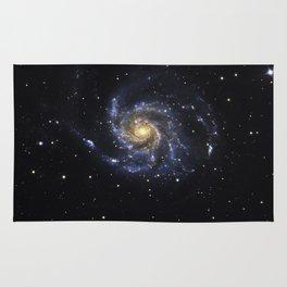Spiral Galaxy M101 Rug