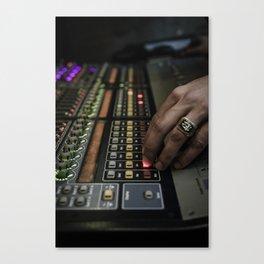 soundman station Canvas Print