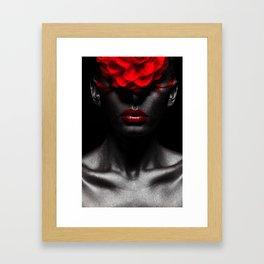 Silvered Framed Art Print