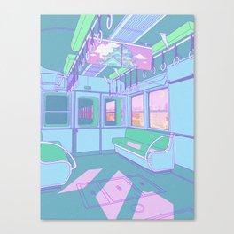 Train to Tokyo Canvas Print