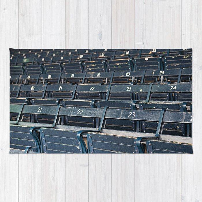 fenway grandstand Rug