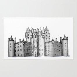 huge castle Rug