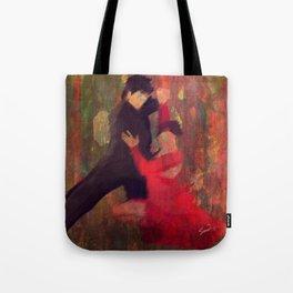 Tango de Fuego/Fire Tango Tote Bag