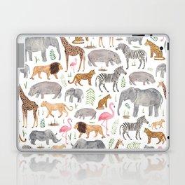 Safari Animals Laptop & iPad Skin