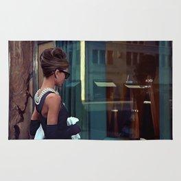 Audrey Hepburn #2 @ Breakfast at Tiffany's Rug