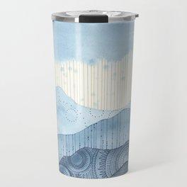 Mountains and Mandalas l Travel Mug