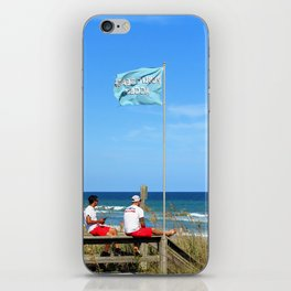 Overseers At The Beach iPhone Skin