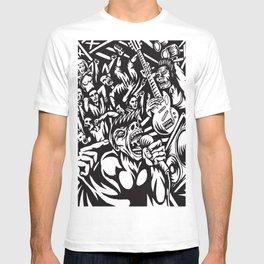 Illustration of Rock Concert T-shirt