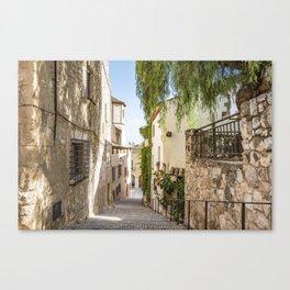 Beautiful Spanish Village Canvas Print