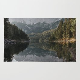 Lake View - Landscape and Nature Photography Rug