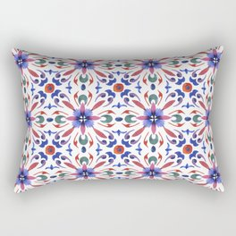 Floral ornament. Watercolor Rectangular Pillow
