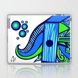 The Blue Elephant Laptop & iPad Skin