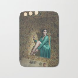 Roses Bloom for You Bath Mat