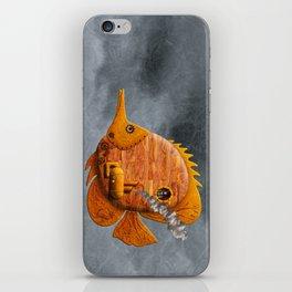 Steampunk Butterflyfish II iPhone Skin