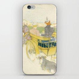 """Henri de Toulouse-Lautrec """"Partie de Campagne"""" iPhone Skin"""