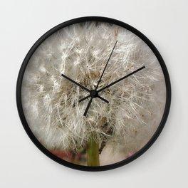 Dandelion Clock Wall Clock