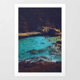 Emerald Sea Art Print