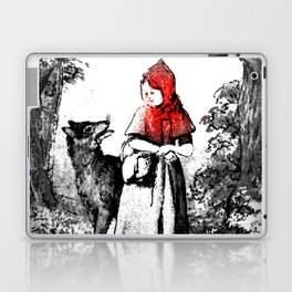 Hey there little red riding hood Laptop & iPad Skin