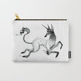 Demon Unicorn Carry-All Pouch