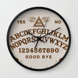 Mystic Board Wall Clock