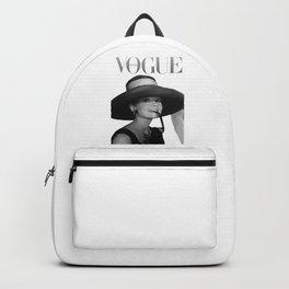 Audrey Hepburn Art Backpack
