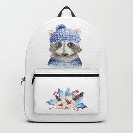 Raccoon face Backpack