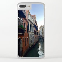 Grand Canal Clear iPhone Case