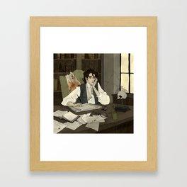 Victor Frankenstein Framed Art Print