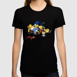 Kaws Nigo Kimpsons Family T-shirt