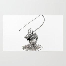 Cat Fishing Rug