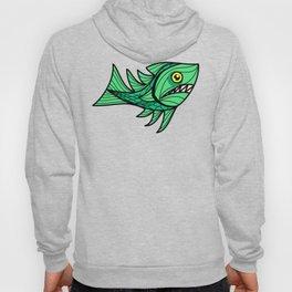 Escher Fish Patter XII Hoody