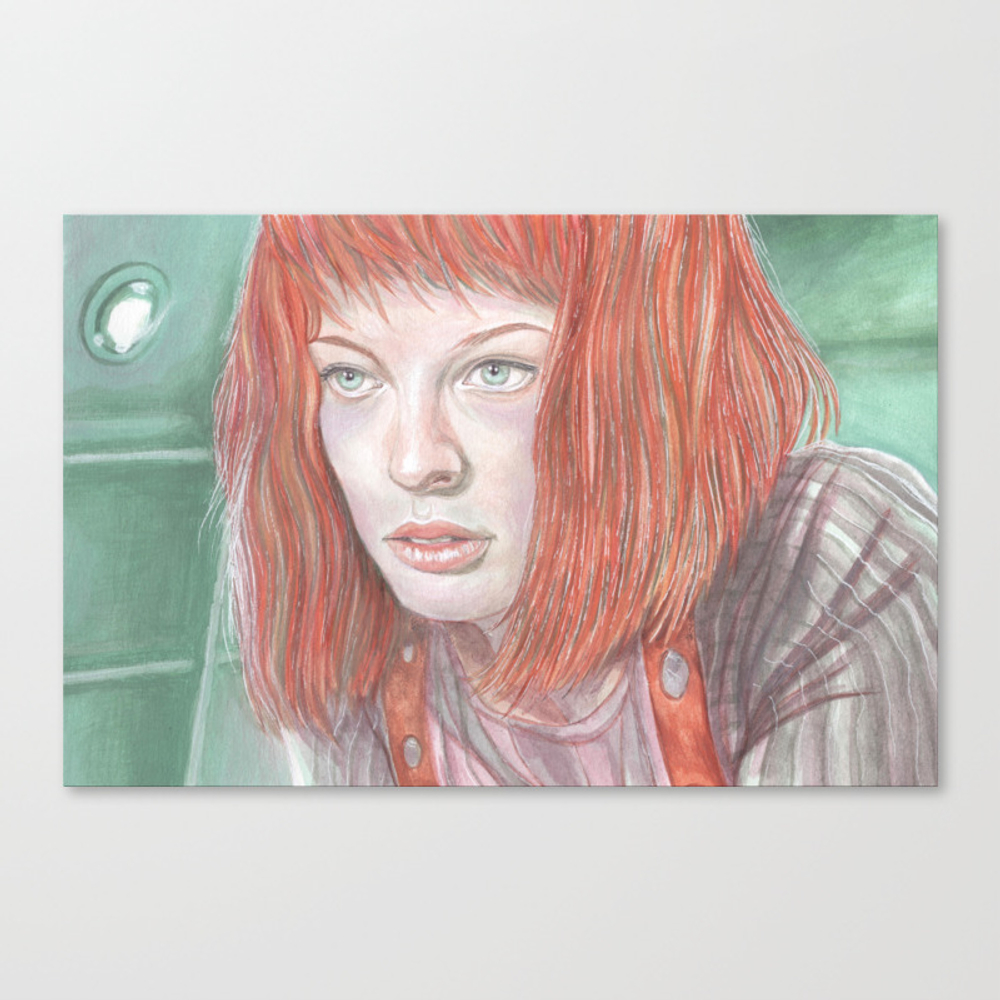 Leeloo - The Fifth Element Canvas Print by Breakthemouldb3 CNV8817740