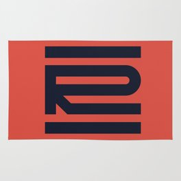 R from 36 Days of Type   2016 Rug