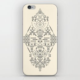 SIMETRIA - II iPhone Skin