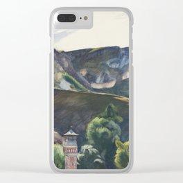 Edward Hopper - Guanajuato, Mexico, 1953 Clear iPhone Case
