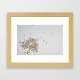 Space Candy Framed Art Print