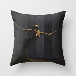 The Dryad Throw Pillow