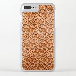 Grate Clear iPhone Case