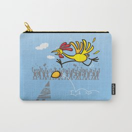 Chicken and egg, scrambled forever in an eternal tie? Carry-All Pouch