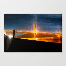 Golden Gate Dreams Canvas Print