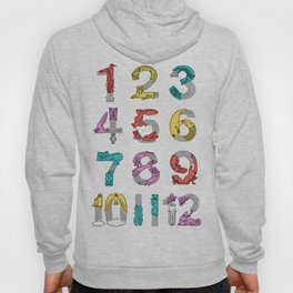 movin number Hoody