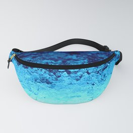 Blue Crystal Ombre Fanny Pack