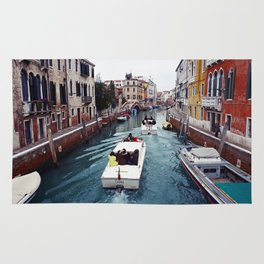 The small boat - Venice Rug