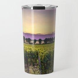 grapevine field Travel Mug