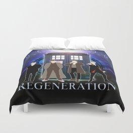 The Doctor Of Regeneration Duvet Cover