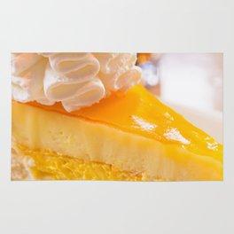 Cheesecake #food #dessert #sweets Rug