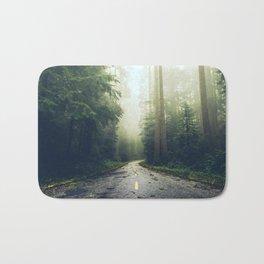 Redwood Forest Adventure - Nature Photography Bath Mat
