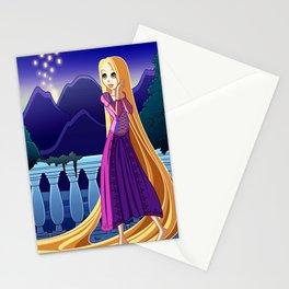 Rapunzel - Tangled Stationery Cards