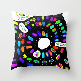Circular 28 Throw Pillow